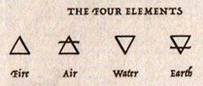 Four elements Se tierra, sostiene a tus raíces. Se agua, acepta tus emociones eternamente cambiantes. Se aire, vive la libertad del desapego. Se fuego, arde e ilumina la vida.