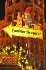Die Marktgassen auf dem Weihnachtsmarkt Köln in der Altstadt