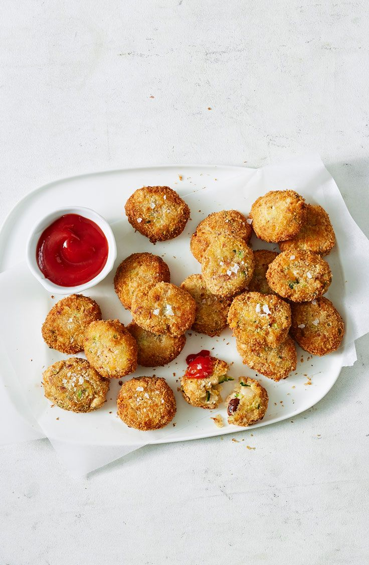 Cheesy Vegetable Nuggets Recipe In 2020 Food Recipes Nuggets Recipe