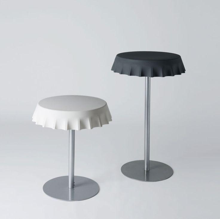 FIZZZ tables, design by Gianni Arnaudo for SLIDE