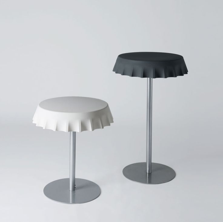 FIZZZ tables, design by Gianni Arnaudo for SLIDE