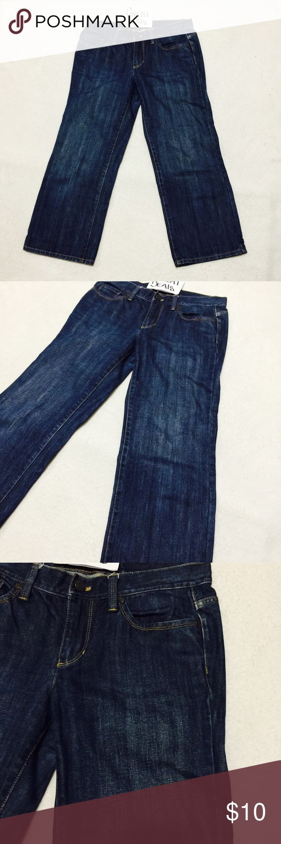 TALBOTS PETITES DARK WASH ANKLE JEANS SZ 4P EUC BARELY USED DARK WASH ANKLE JEANS  SIZE 4P LEN 31 INSEAM 22 SUPER LIGHT WEIGHT  MANNEQUIN IS SIZE MED. PLEASE ASK ANY QUESTIONS ❤️❤️NEW INVENTORY❤️❤️  ✅BUNDLE AND SAVE ON SHIPPING 20% OFF ON ANY BUNDLES MY PRICES ARE GREAT AND THERE NWT OR NWOT UNLESS STATED  THERE NAME BRAND SELLING THEM FOR CHEAP✅  ***DONT FORGET TO FOLLOW I DELETE AND RELIST***  # GREAT DEALS Talbots Pants Ankle & Cropped