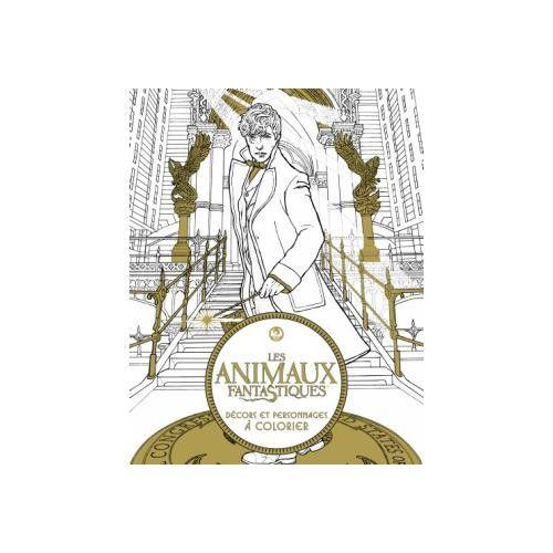 Les Animaux fantastiques, Décors et personnages magiques à colorier - Warner Bros sur Fnac.com