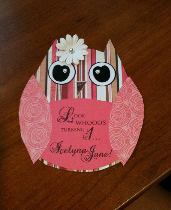http://www.etsy.com/listing/75591367/custom-layered-owl-invitations-with-bow?ref=sr_gallery_14_search_query=1st+birthday+invitations+owl_page=4_search_type=all_facet=Lauren Parties, Layered Owls, Custom Layered, Birthday Parties, 1St Birthday 3, Owls Invitations, Parties Ideas, Layered Ideas, Birthday Ideas