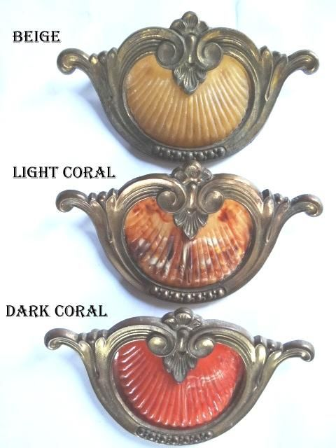 original antique drawer pulls