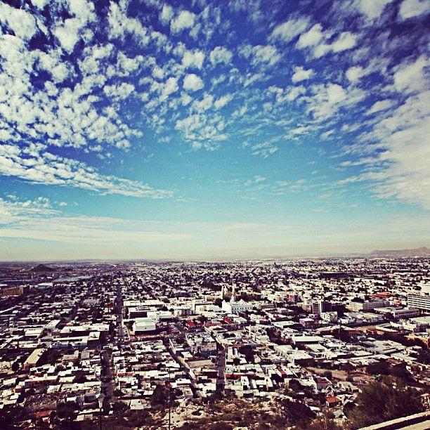 """""""Vista desde el Cerro de la Campana. Hermosillo, Sonora, México."""""""