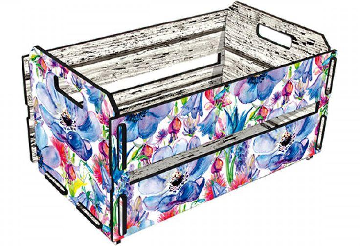 Esse caixote serve para organizar e decorar.  15-presentes-de-amigo-secreto-que-custam-de-20-a-50-reais
