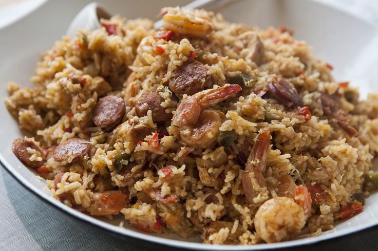 Cajun jambalaya is the love child of risotto and paella. The creaminess of the rice is similar to that of awell-made risotto, while the shrimp, andouille and chicken combination are reminisce…