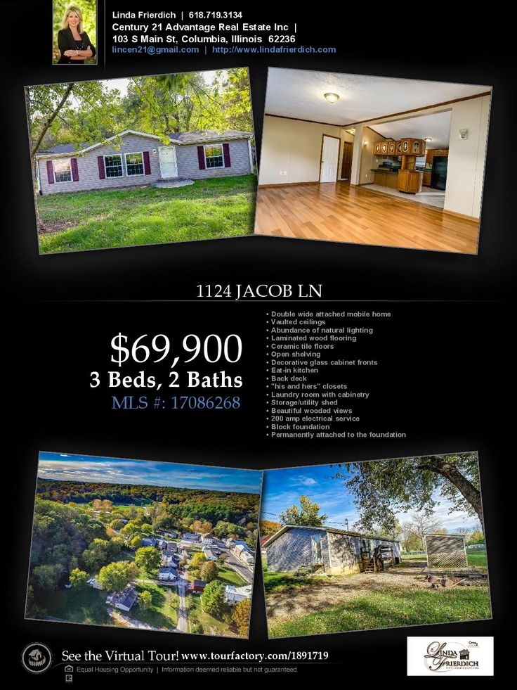 Beautiful Double Wide home in Maeystown for sale!