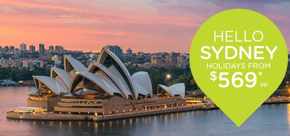 Take the family across the ditch for Easter!  helloworld have Sydney Holidays on sale until 1st April, grab a deal and go!