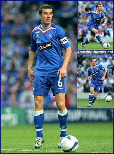 Barry Ferguson - Rangers FC - UEFA Cup Final 2008