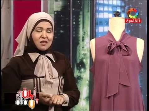 الحلقة { 148 } فستان كلوش كت { مقاس 50 } بدون باترون 2016/8/12 - YouTube