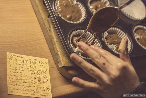 Atom's 365 project, 365/15 - Kakaós muffin (hülyéknek is) Ma arra...