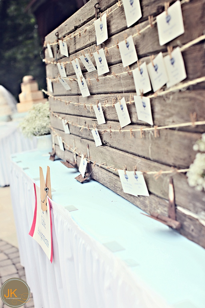 I have an idea for the escort card display that relates to this… I'll tell you about it on Thursday.