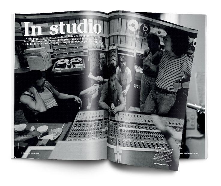 Speciale Bruce Springsteen Un progetto di Musica Jazz e Music Circus Art Director Silvano Belloni Publisher Marco Tatarella Illustrazioni Davide Forleo Foto Sony Archives
