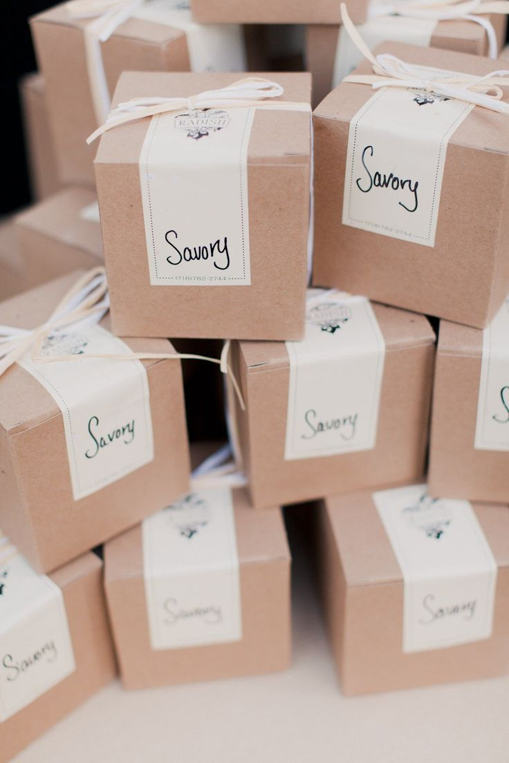 Featured Photographer: Mademoiselle Fiona; Classic Urban New York Wedding - wedding favor idea
