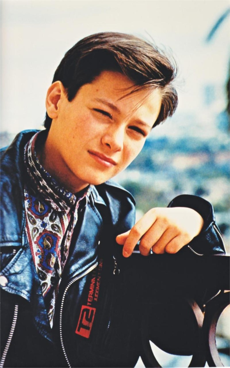 "Edward Furlong in ""Terminator 2: Judgement Day"" (1991)"