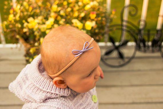 Lavender Nylon Headband