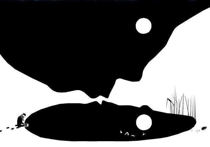 """Betty Bone - """"La Nuit"""" Le Rouergue 2005"""