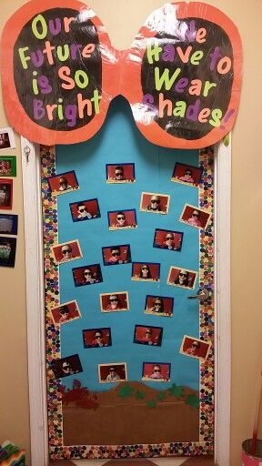 June Classroom Ideas ~ End of year door may june kindergarten prek bulletin