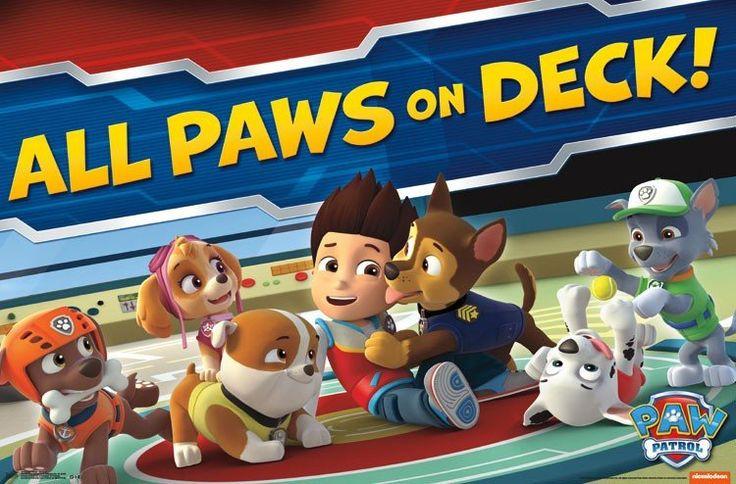 Paw Patrol - On Deck Wall Poster 22x34 RP14438 UPC882663044382 – Mason City Poster Company