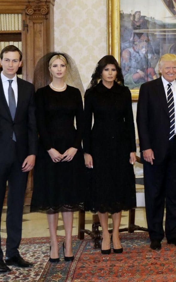 Why Melania and Ivanka Trump stuck to traditional Vatican dress codes when meeting Pope Francis today