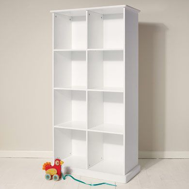 Abbeville Storage - Eight Cube, White - Great Little Trading Co - £225
