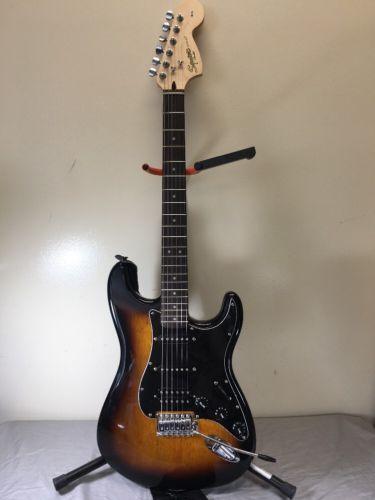 Fender Squier Strat Affinity SUNBURST W/SOFT CASE