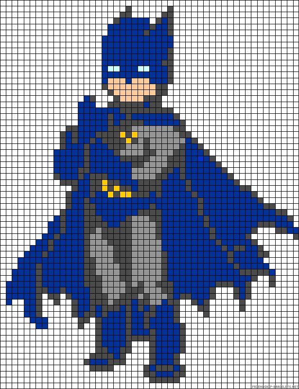 Batman Perler Bead Pattern