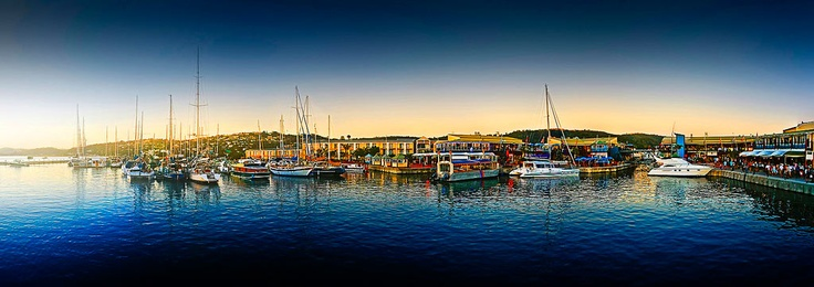 Don't forget to stop at Knysna Harbor when you drive the Garden Route in South Africa. The colors are unforgettable!