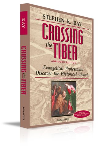 Crossing the Tiber   $3.85 after 30% off with coupon code 'Lent'  Crossing the Tiber | For Greater Glory Catholic Book & Gift