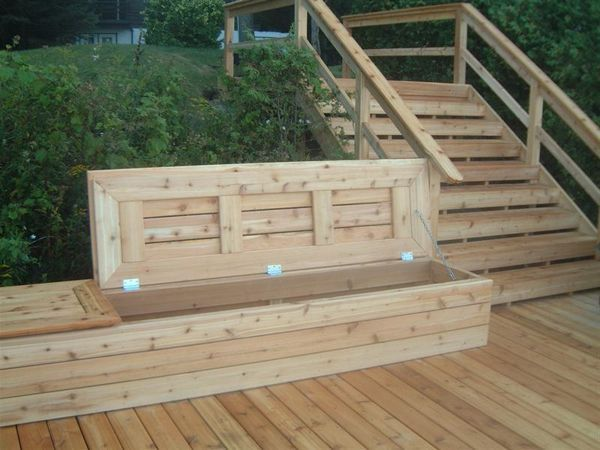 Best 25 deck storage bench ideas on pinterest outdoor Deck storage bench