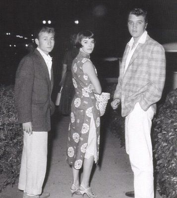 Elvis with Natalie Wood and Nick Adams