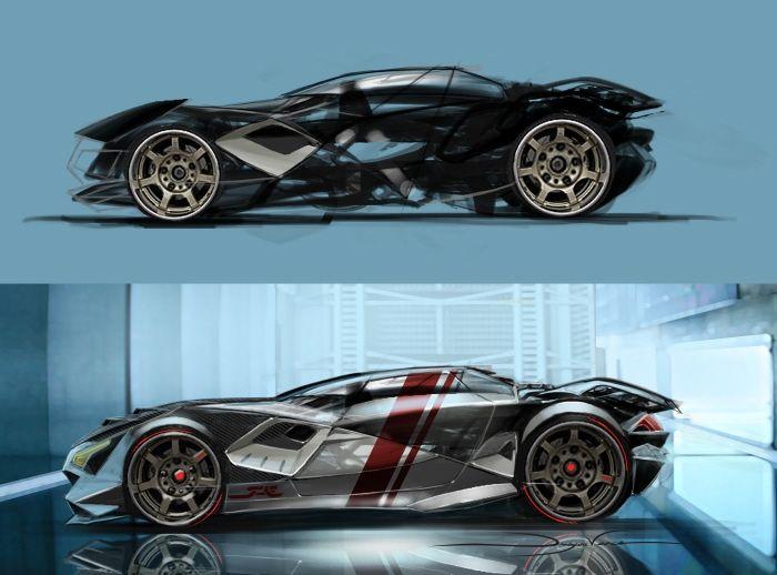 Future Drift Car By Dwayne Vance At Coroflot Automotive Cars