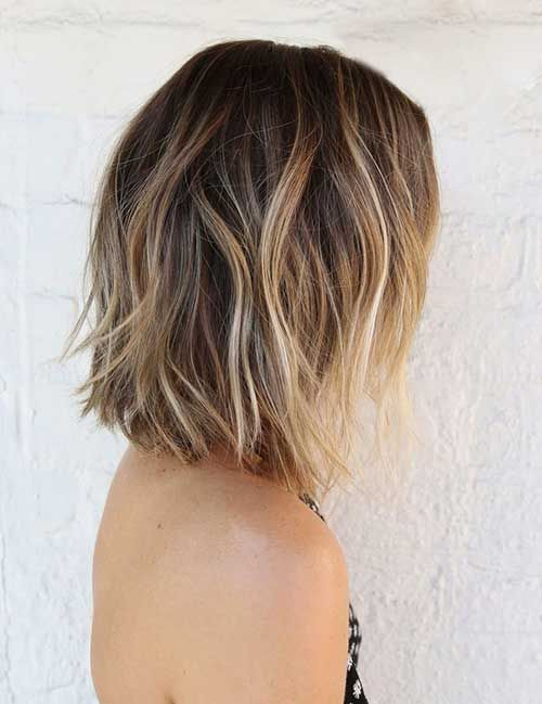 ombre balayage medium length straight hair - Google Search
