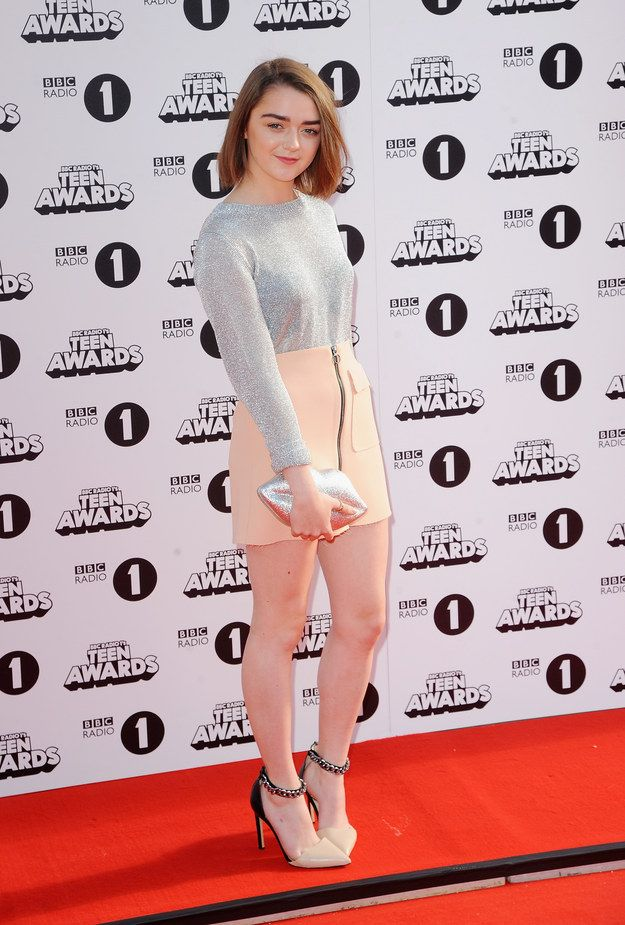 Maisie Williams | Check Out All The Celebrities Who Attended The 2014 Radio 1 Teen Awards