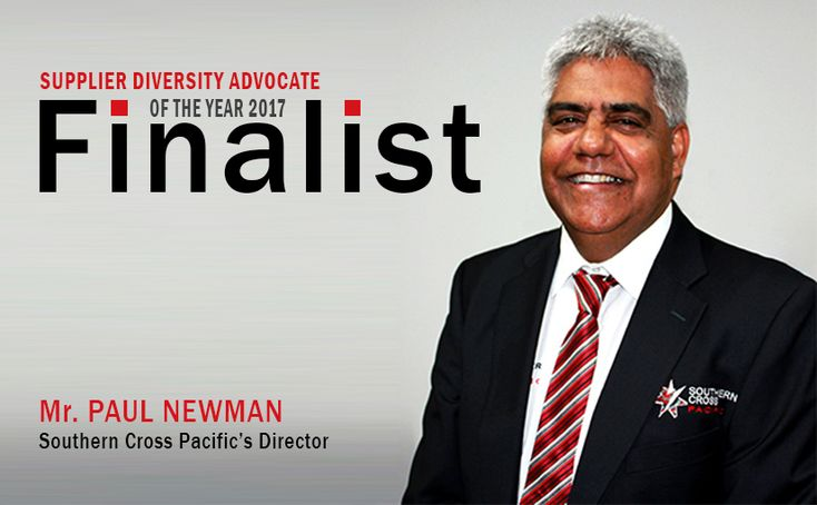 Southern Cross Pacific's Director, Paul Newman, The front runner for Supply Nation Award 2017.
