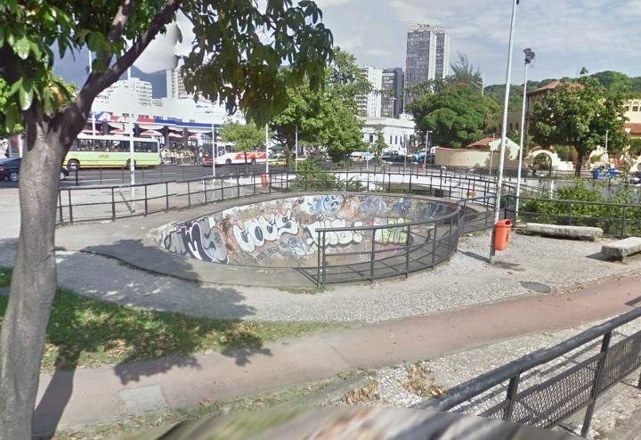 Bowl do Rio Sul. Rio, Brazil.
