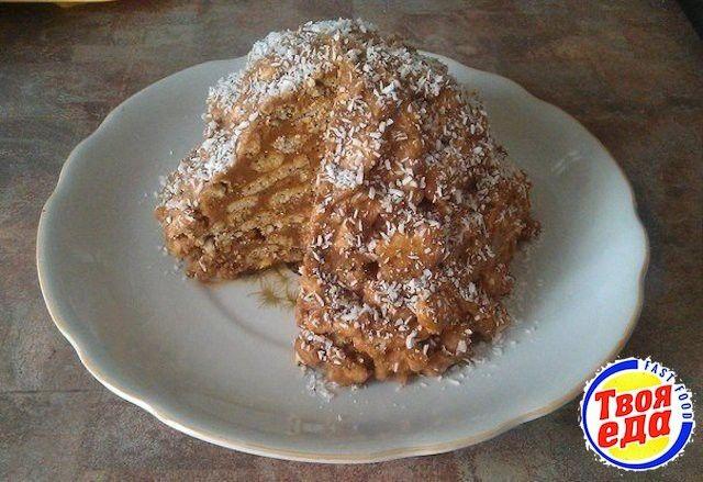 Легкий рецепт торта Муравейник