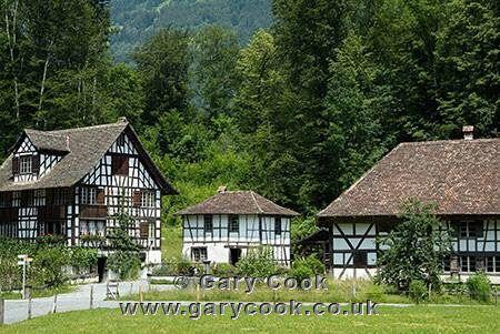 Freilichtmuseum Ballenberg, near Brienz, Berner Oberland, Switzerland