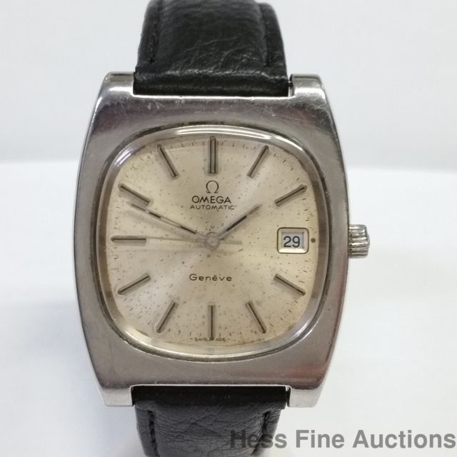 Omega Automatic Vintage Steel Retro 23J Date Mens Wristwatch Running 1970s…
