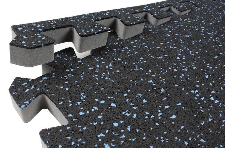 3/4 inch Soft Rubber - Foam Rubber Floor Tiles