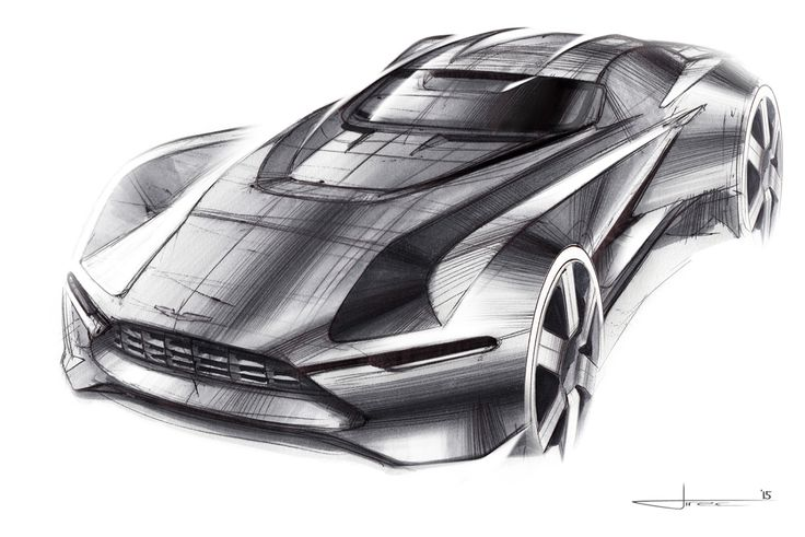 "Aston Martin ""Tech-07"" Sketches on Behance"