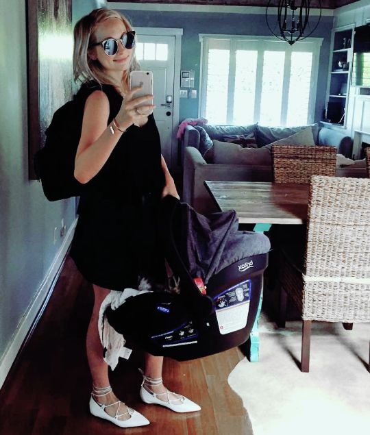 Candice Accola - craccola: I've learned that another term for mom is pack mule #momlife
