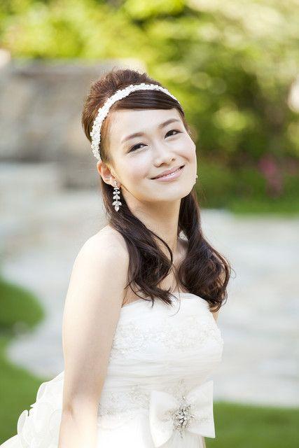 アニヴェルセル 東京ベイ|結婚式場写真「ハーフアップで大人可愛く☆」 【みんなのウェディング】