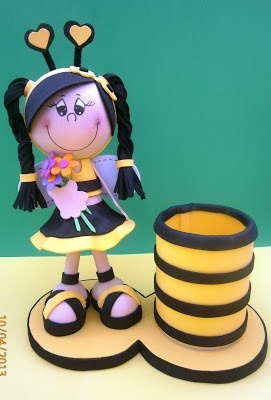 Fofucha abeja