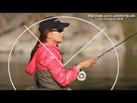 Woman Fly casting, as if that's unusual. A very relaxing video to watch, nice music, water, fly fishing, what could get any better?