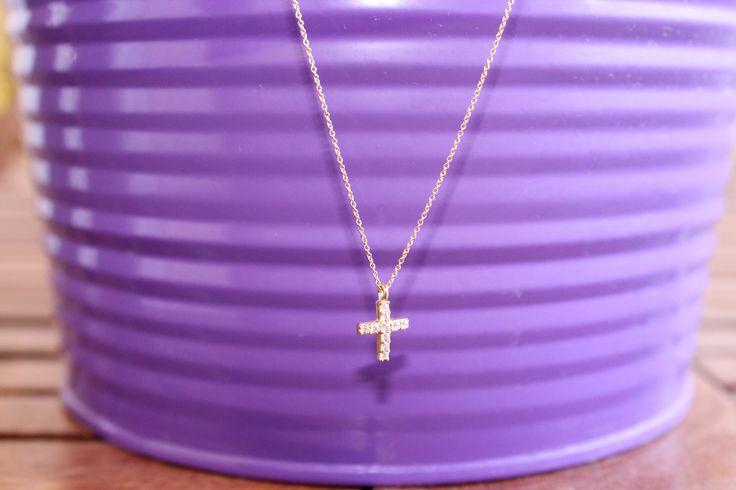 Little cross necklace