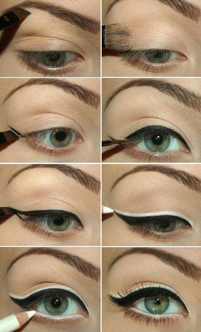 Double Eyeliner Makeup Tutorial
