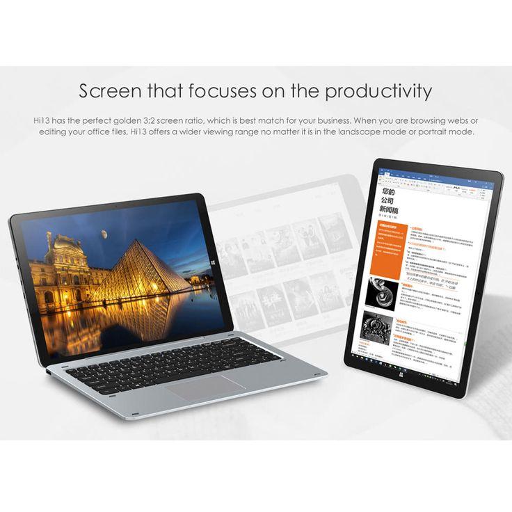 Chuwi Hi13 Windows10 Tablet PC 13.5 inches 4GB RAM 64GB ROM Sales Online Array Array - Tomtop